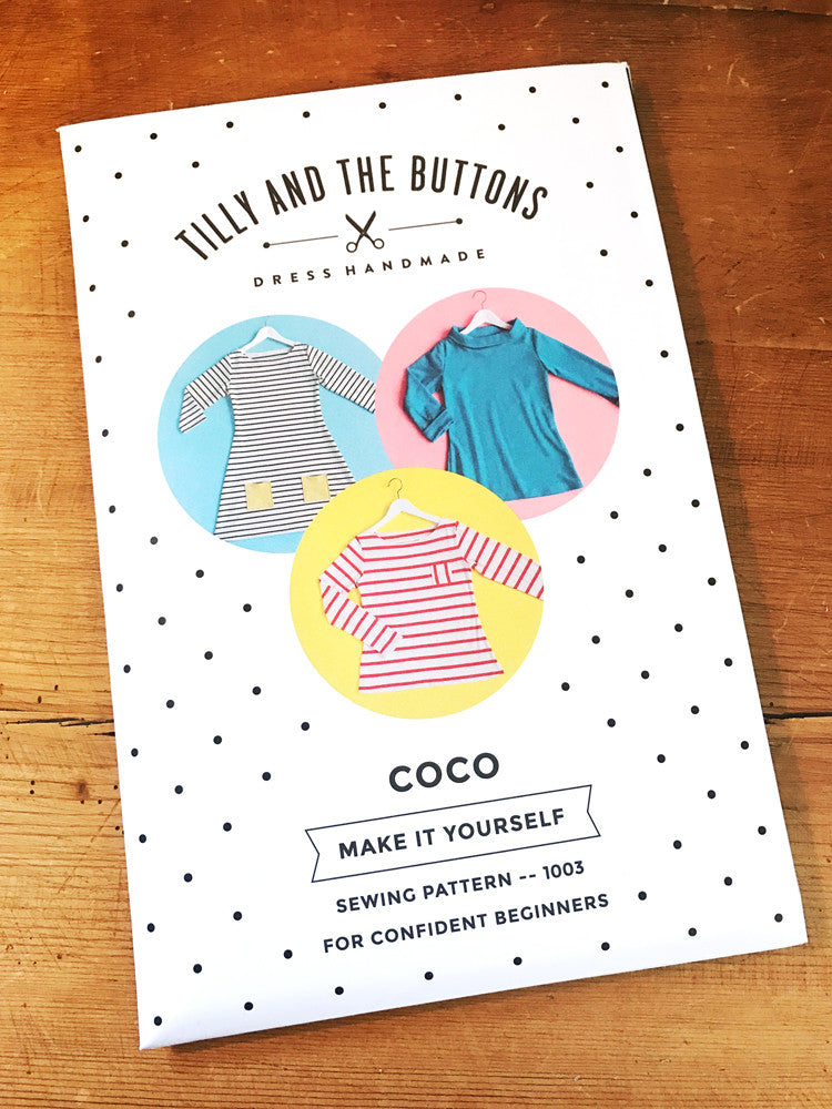 Tilly And The Buttons - Coco Top/Dress – Craftyangel