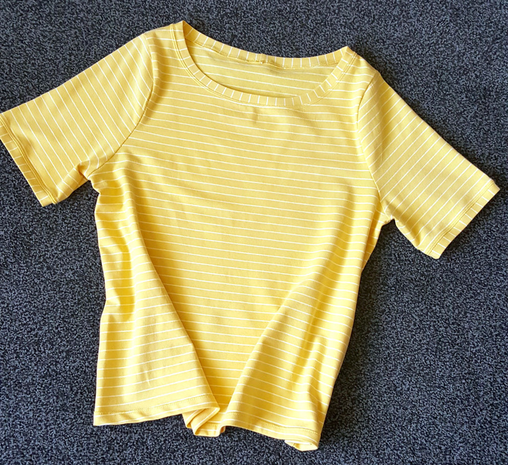 3 spaces left - Sewing with jersey - Grainline Lark T-Shirt [23rd March 10am-3.30pm] - Craftyangel