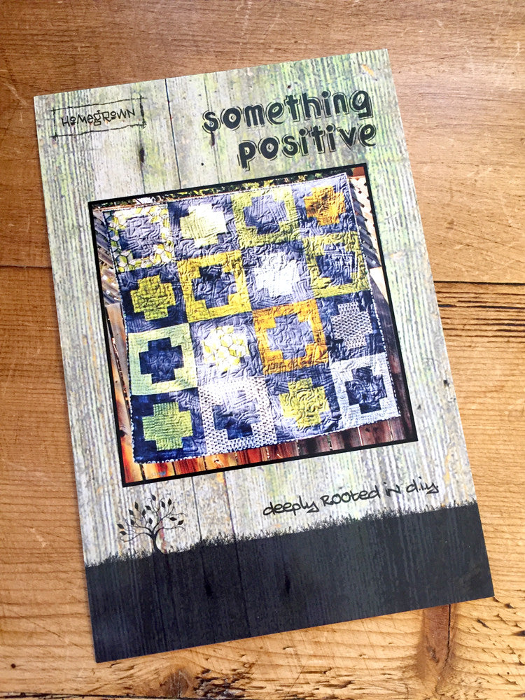 Villa Rosa - Something Positive quilt pattern - Craftyangel