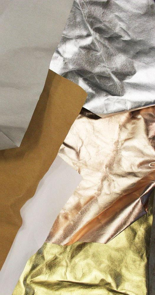Rico Design - Washable Paper - Gold, Silver, Rose Gold, Brown, Grey