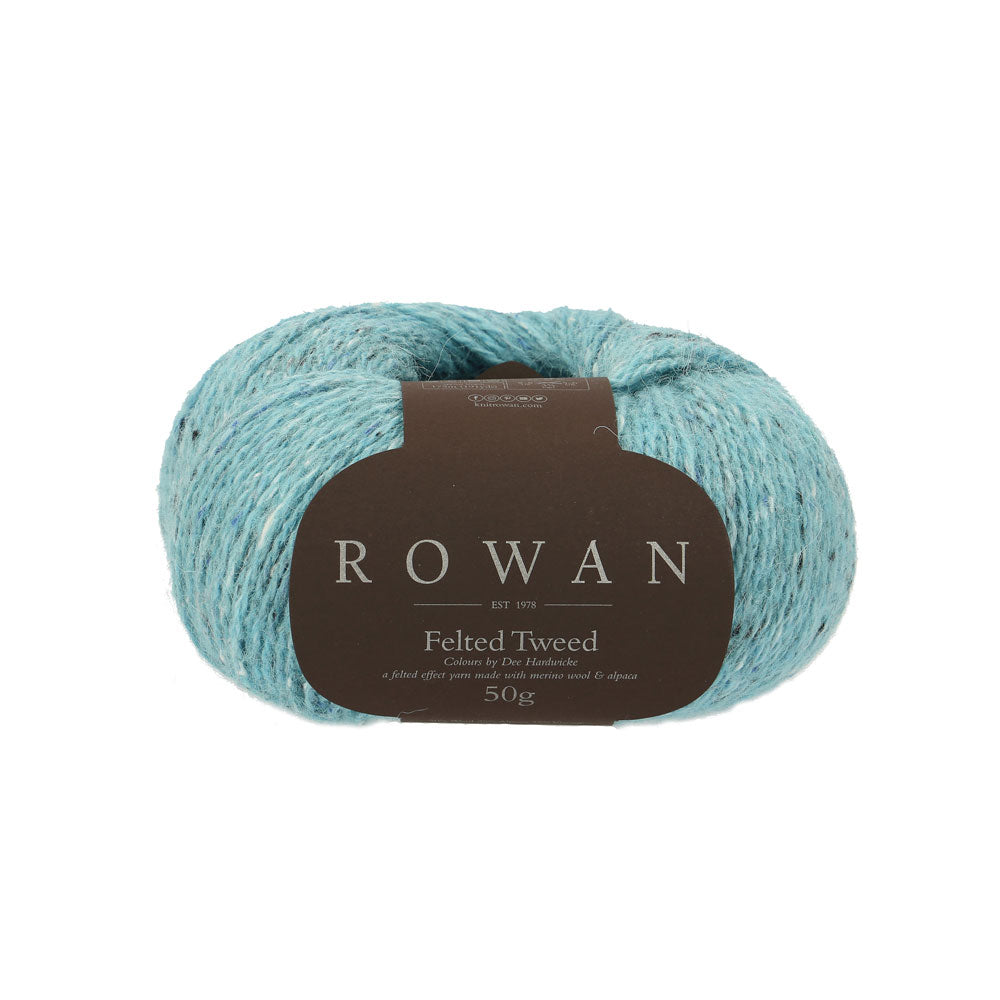 Rowan Felted Tweed - Dee Hardwicke - Winter Blue (803) - Craftyangel