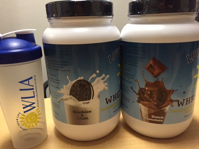Love Your Life Cookies N Cream Whey Protein Powder