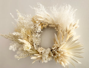 White Forever Wreath (January 2021 release)
