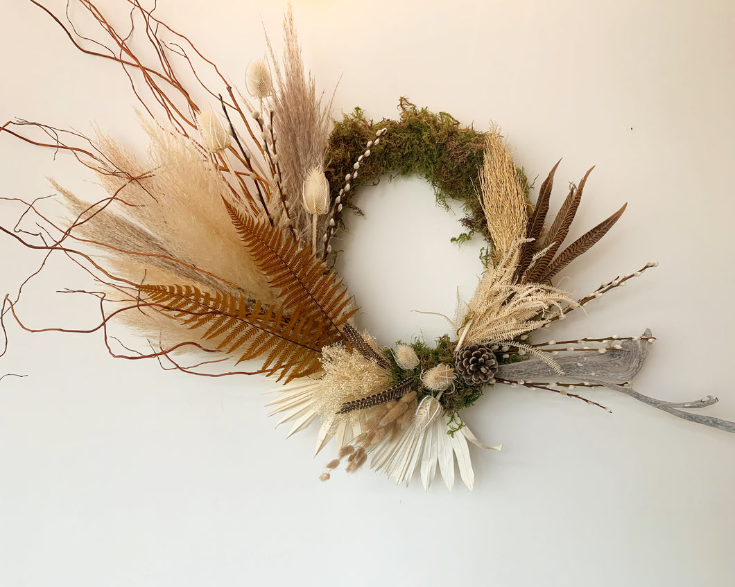 Custom Winter Wreaths Made By Amelia Posada Pre-Order