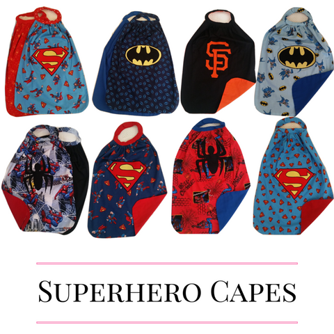 Handmade Super Hero Capes