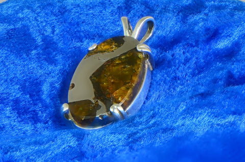 Beautiful FUKANG Meteorite Pendant - Jewelry