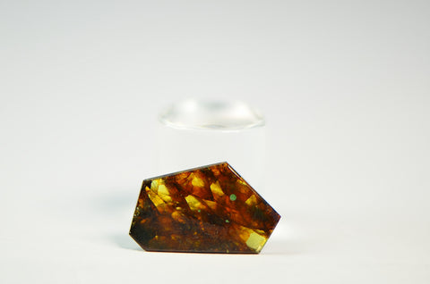 FUKANG PALLASITE Meteorite | 0.72g Top Quality A+ Specimen | Jewelry from Space!