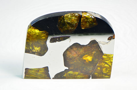 FUKANG PALLASITE Meteorite | 19.1g Top Quality A++ Specimen | Jewelry from Space!