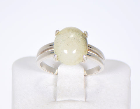 Libyan Desert Glass Beautiful Ring I Meteorite Jewelry I Size 7 3/4