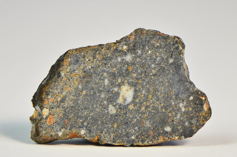 Lunar Breccia Meteorite 0.8 gram full slice | The Moon