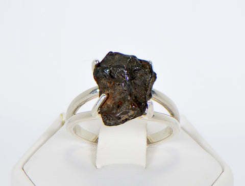 SERICHO Pallasite Meteorite Beautiful Ring - Size 7 - Meteorite Jewelry
