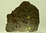 38.23g Erg Chech 002 Ungrouped Achondrite Meteorite I Beautiful Meteorite Slice