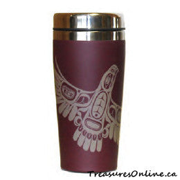 Buy Native Design Eagle's First Flight 16oz Stainless Steel Travel Mug Online