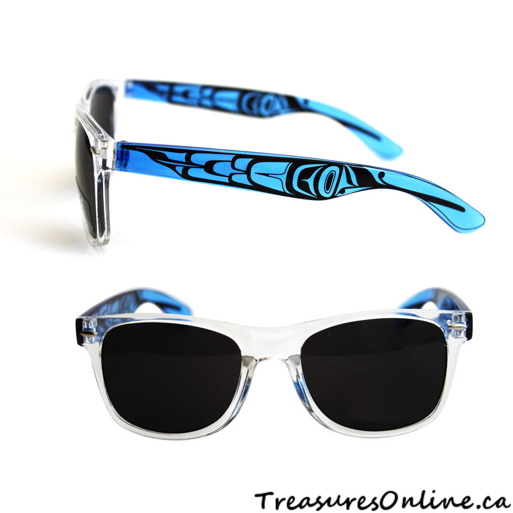 Buy Native Feathers Adult Sunglasses Clear Frames Online