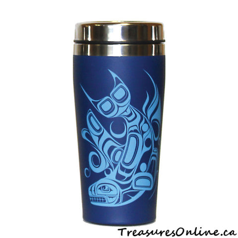 Buy Native Design Orca 16oz Stainless Steel Travel Mug Online