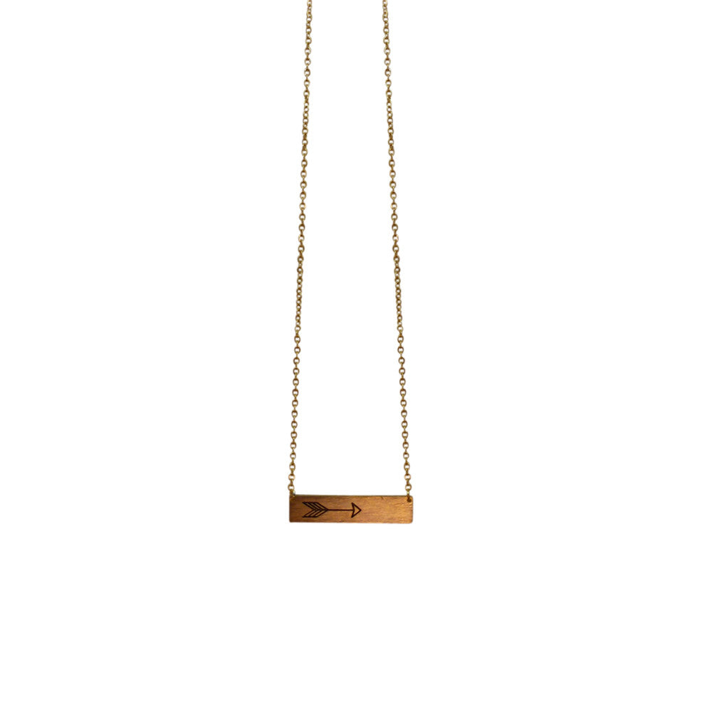 Arrow Rectangle - Gold