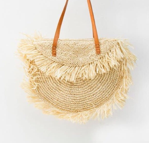 Tropicana Tote - Cream