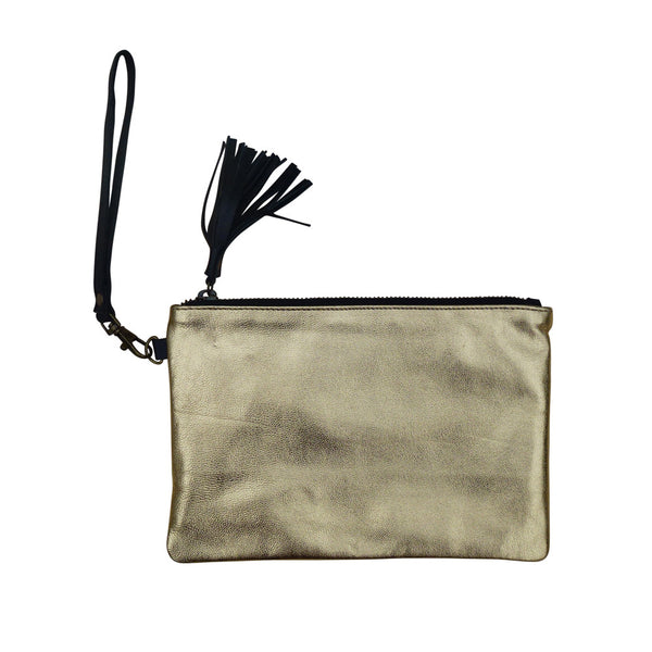 Blondie - Gold Metallic Purse