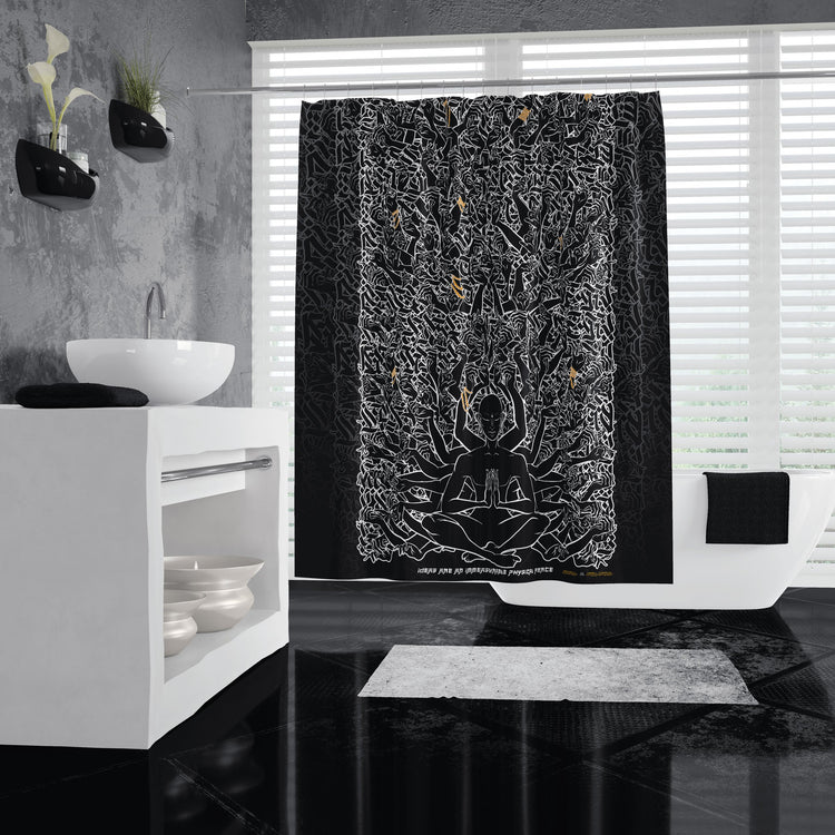 1000 LIMBS Shower Curtains