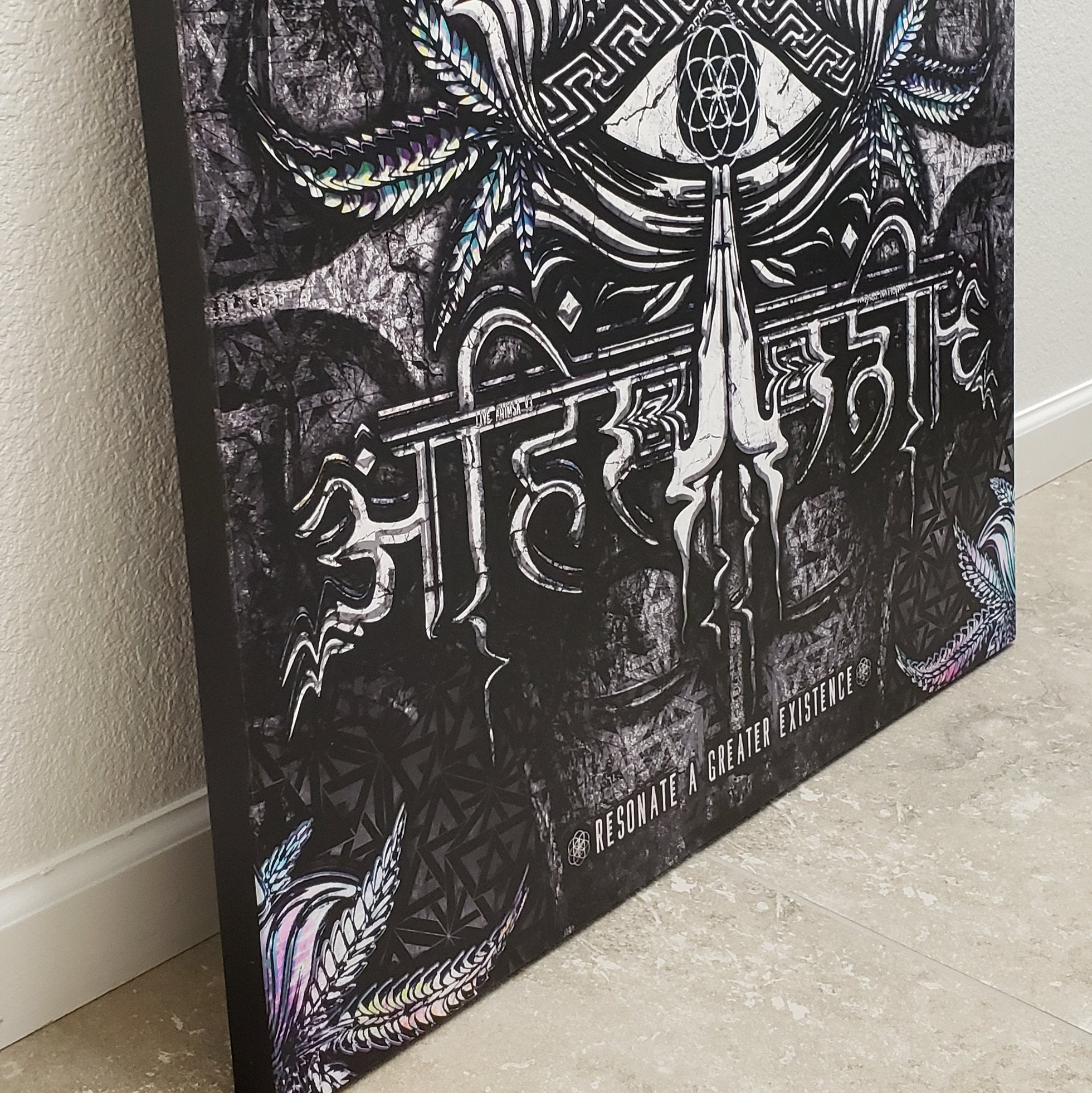 NEW RELEASE  \\ LIVE AHIMSA V3 // Canvas Wrap