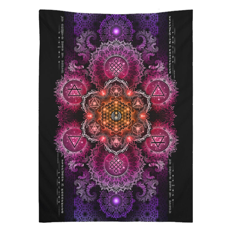 NEW-ETERNAL ALCHEMY V2.5 • YANTRART • Wall Tapestry Tapestry 26x36 inch
