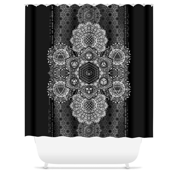 ETERNAL ALCHEMY V1 YANTRA ART • Shower Curtain Shower Curtain