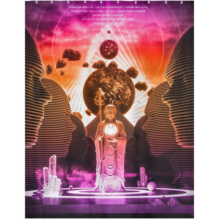 DO ME MONOMYTH Shower Curtains 70x90 inch