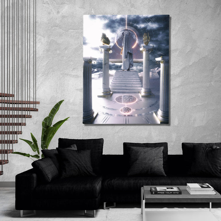 PATH TO ASCENSION • AFTERTASTE • Canvas Wrap Canvas