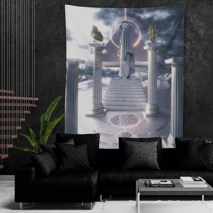 PATH TO ASCENSION • AFTERTASTE • Wall Tapestry Tapestry