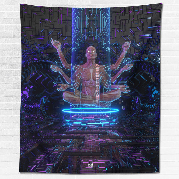 ELDER • GLASS CRANE • Wall Tapestry Tapestry
