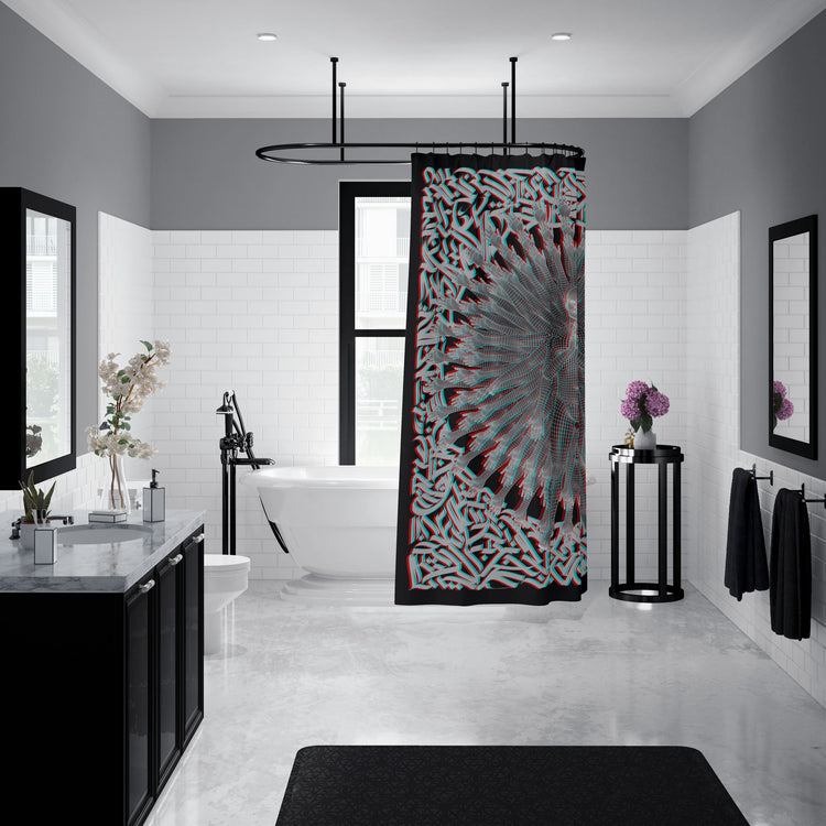 PRIMORDIAL GUARDIAN • SUMMONS • Shower Curtain