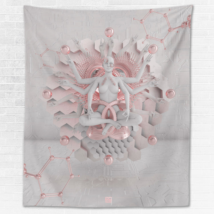 GOT EM • GLASS CRANE • Wall Tapestry Tapestry