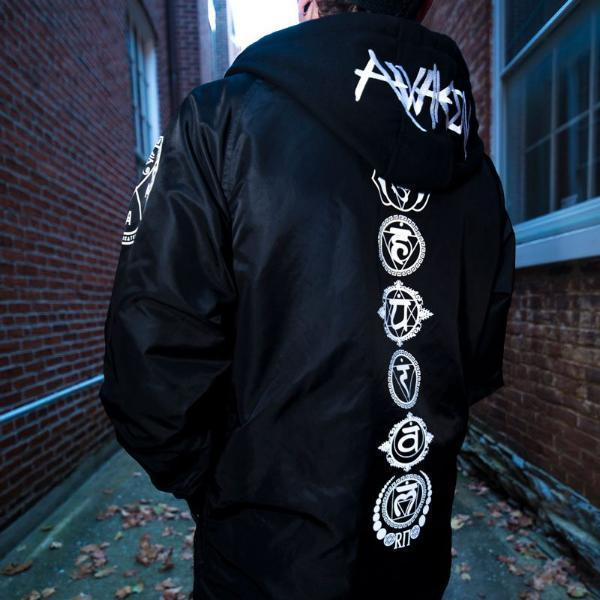 AWAКEN • All-Season Hooded Windbreaker Jacket Apparel