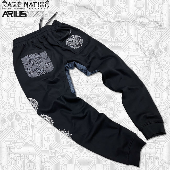 ARIUS COLLAB • MOTHA FATHA BASS • Hidden Pocket Unisex Joggers Joggers