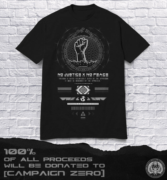 END RACISM • Limited Edition Donation Tee T-Shirt