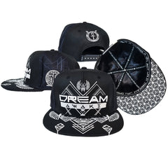 DREAM AWAKE • Hemp Secret Pocket Snapback Hats