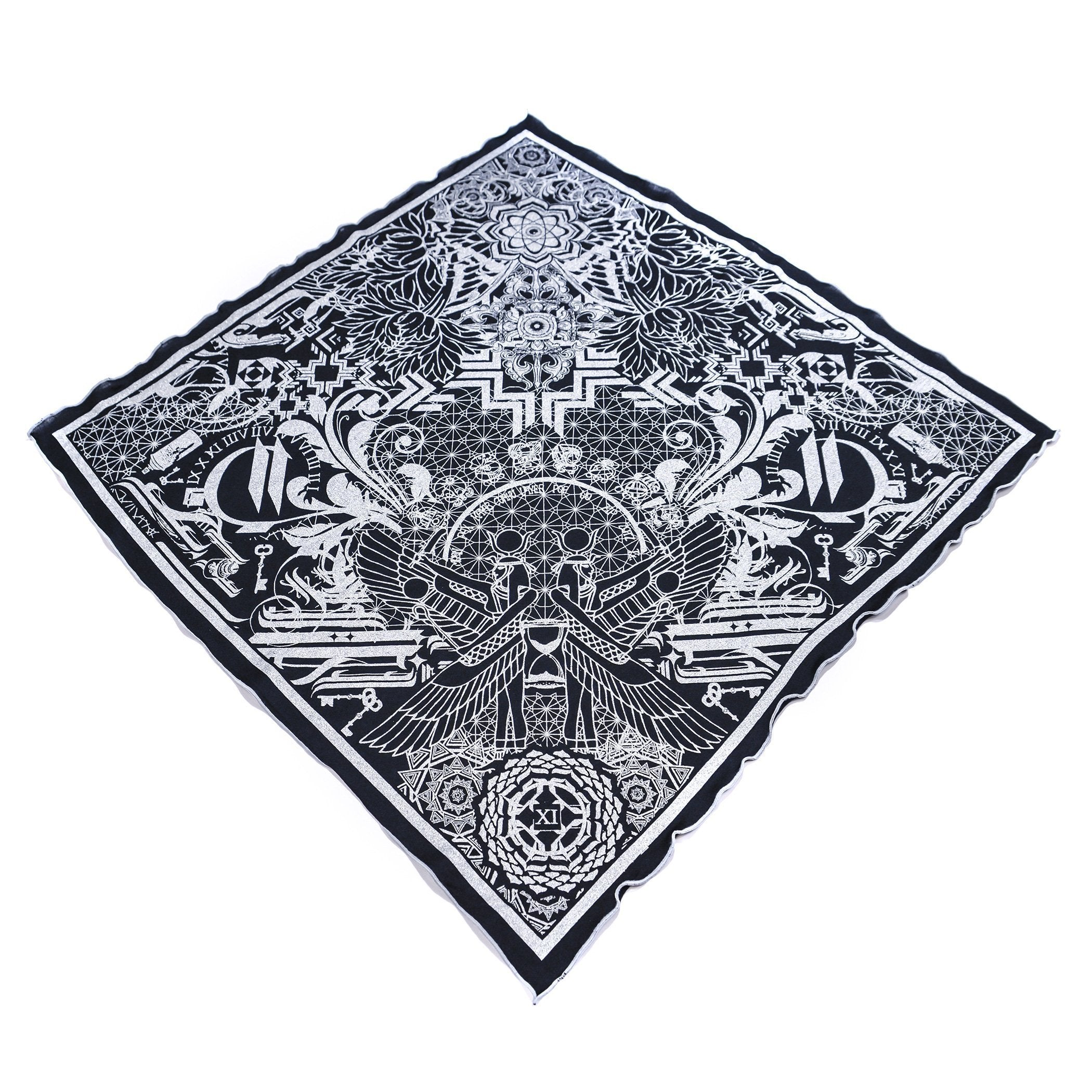 THE TIME BETWEEN // Crystal Infused Ink Bandana