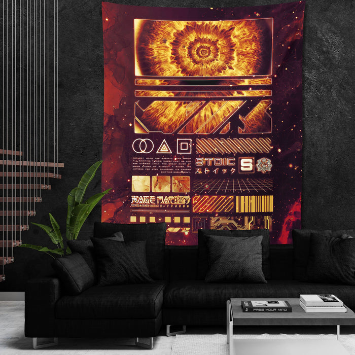 ENDLESS SHIFT • STOIC DIGITAL • Wall Tapestry Tapestry