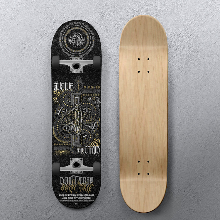 EVOLVE THE MIND V1 • Skateboard Deck Skateboard