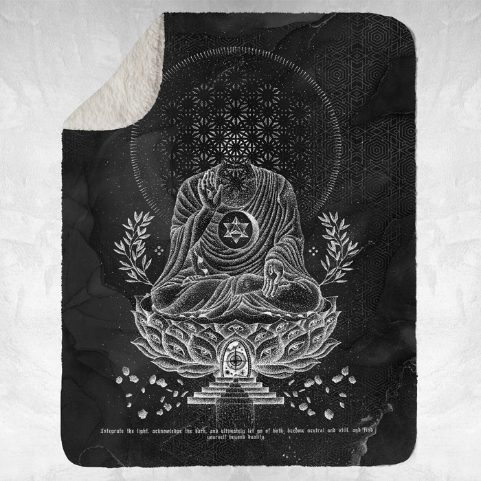 LOTUS THRONE V1 • GLENN THOMSON • Sherpa Blanket Blanket