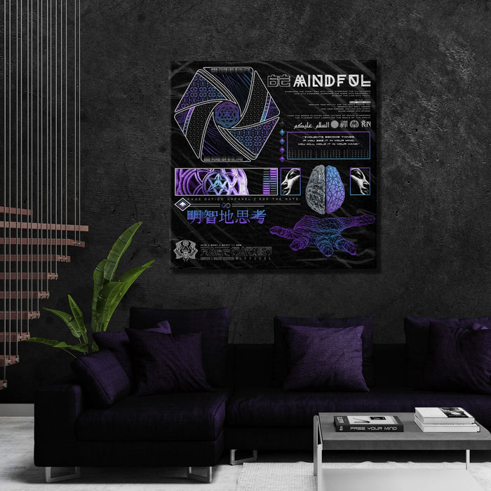 MIND OF ZEN • Limited Edition Canvas Wrap Canvas