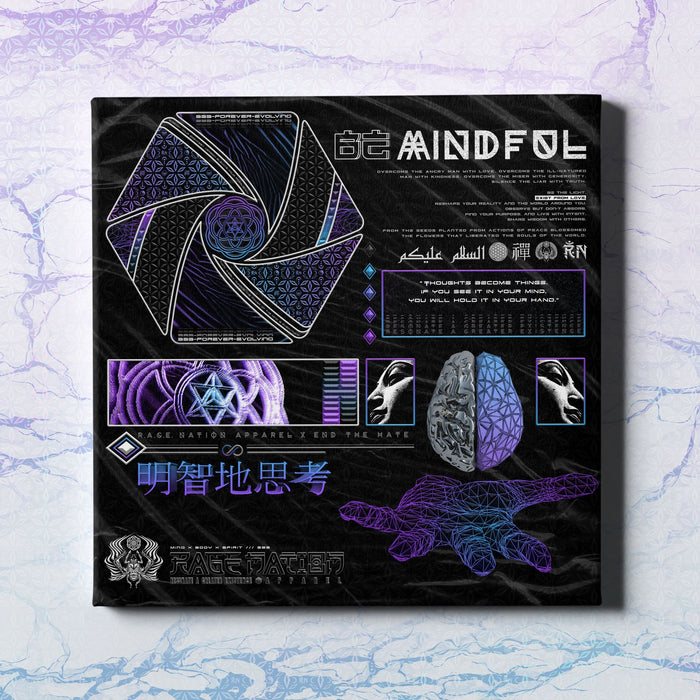 MIND OF ZEN Limited Edition Canvas Wrap