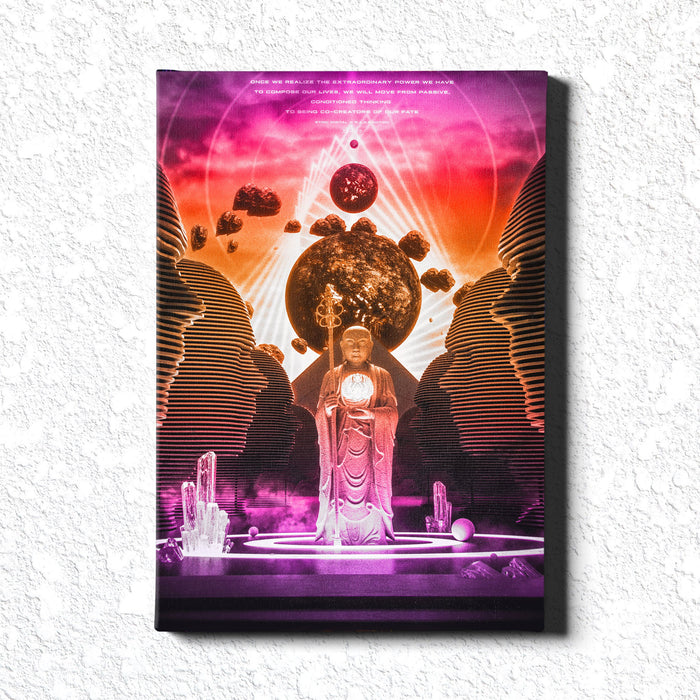 MONOMYTH • STOIC DIGITAL • Limited Edition Canvas Wrap Canvas
