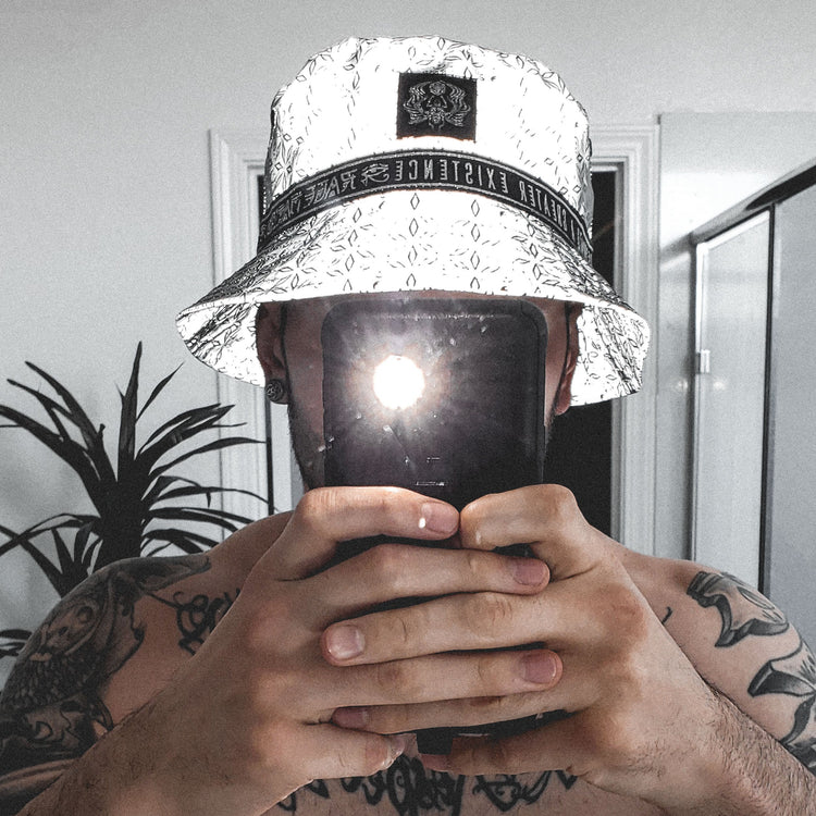 Coming Soon • MIND OF ZEN V2 • Reversible Reflective Bucket Hat