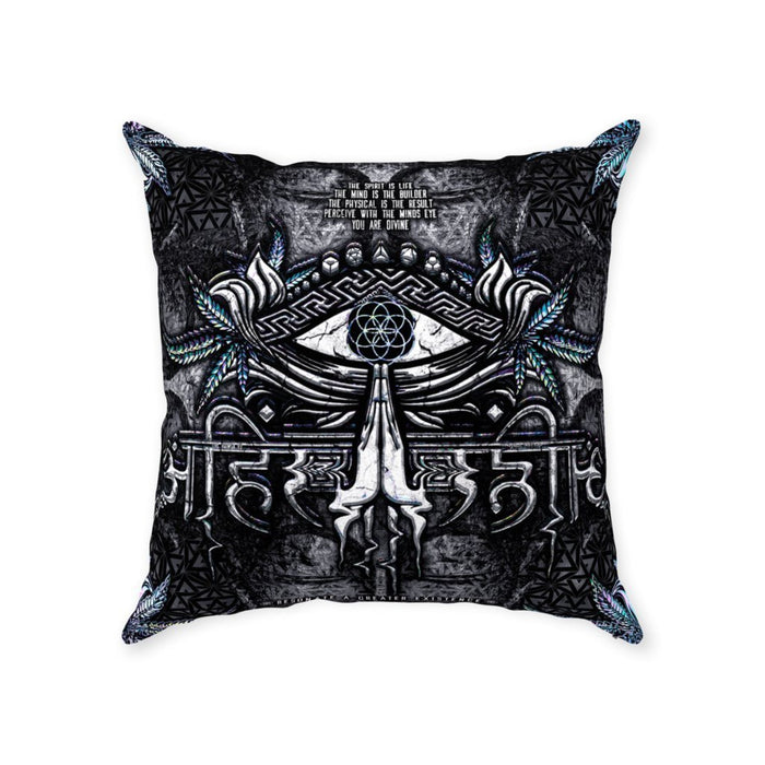 ahimsa v3 suede pillow With Zipper Suede 18x18 inch