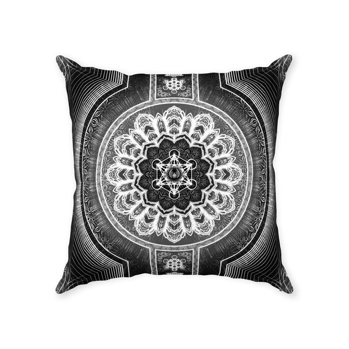 Stages of Light Throw Pillows With Zipper Suede 18x18 inch
