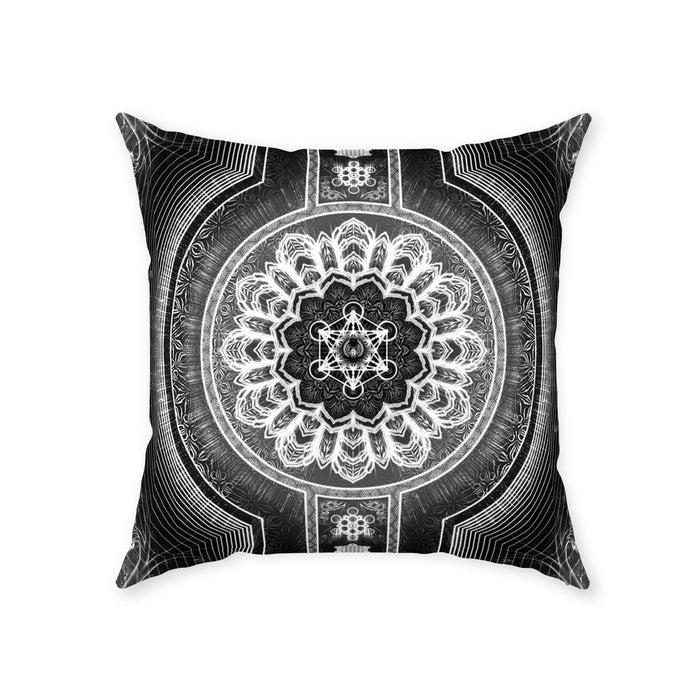 Stages of Light Throw Pillows With Zipper Suede 26x26 inch