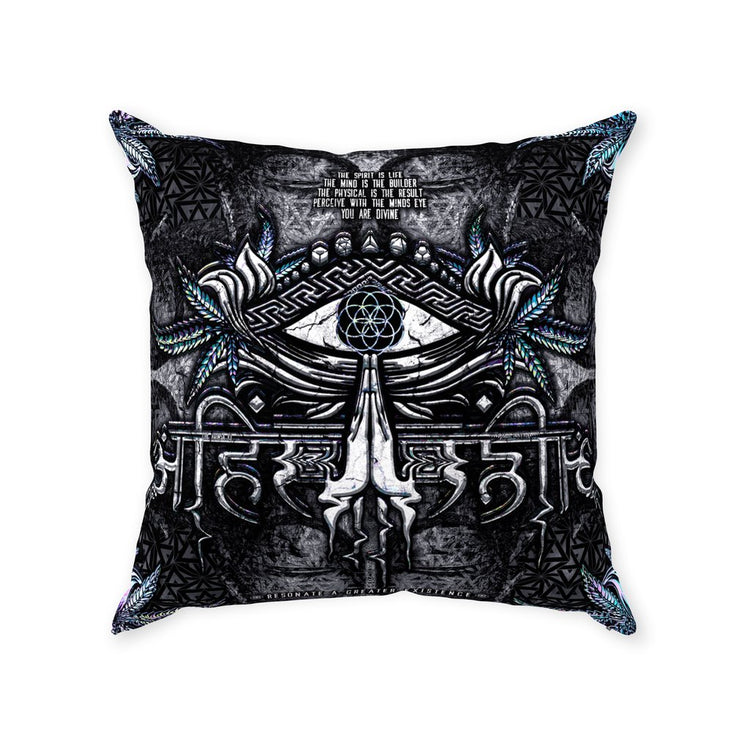 ahimsa v3 suede pillow With Zipper Suede 20x20 inch