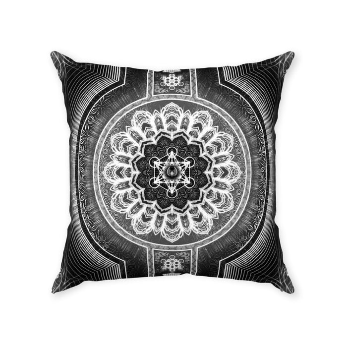 Stages of Light Throw Pillows With Zipper Suede 20x20 inch
