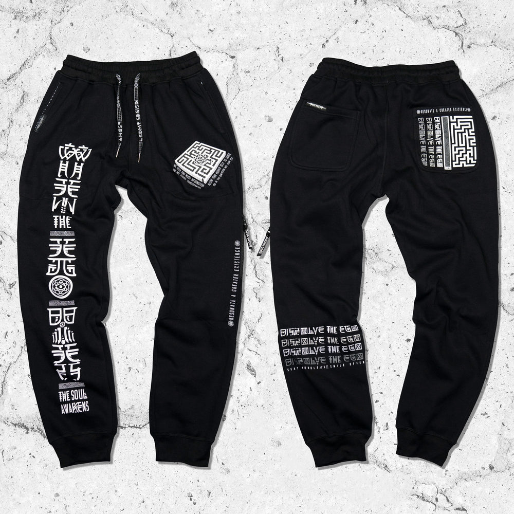 DISSOLVE THE EGO • Hidden Pocket Joggers